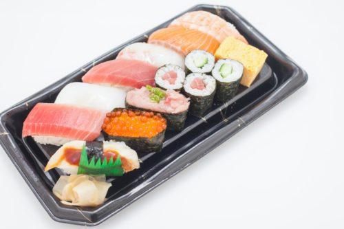パック寿司